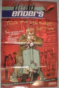 DEADENDERS Promo poster, Vertigo, 22x34, 1999, Unused, more Promos in store