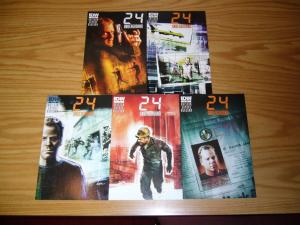 24: Underground #1-5 VF/NM complete series based on tv show - jack bauer 2 3 4
