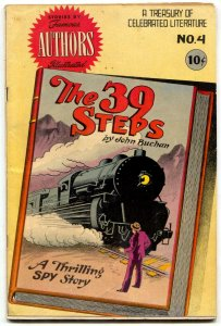 Stories By Famous Authors Illustrated #4 1950-39 Steps by John Buchan FN