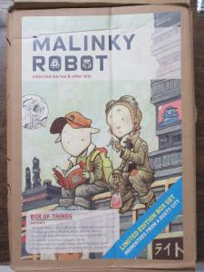 Malinky Robot Limited Edition Box Set by Sonny Liew Indie Comic Street Urchins