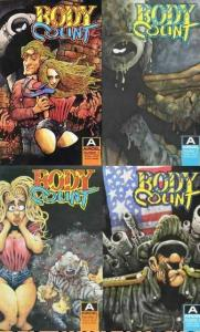 BODY COUNT (1989 AI) 1-4  Barry Blair  COMPLETE SERIES!