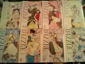 Dazzle manga series 1-8 ,Tokyopop 1st editions Minari Endoh shojo Manga lot set