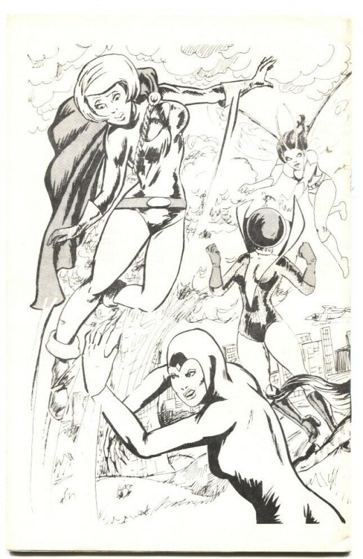 HEROINE ADDICT #9-1976-FEMALE SUPERHERO FANZINE-FLY GIRL-ISIS-BIONIC WOMAN