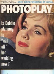 Photoplay-Debbie Reynolds-Elvis Presley-Marlene Dietrich-Nov-1960