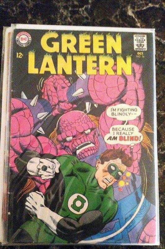 Green Lantern #56 (DC, 1967) FN/VF