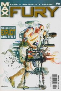 Fury (2nd series) #2 VF/NM; Marvel | save on shipping - details inside