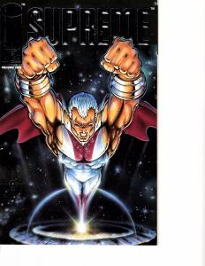 Lot Of 2 Comic Book Image Supreme #1 and X-Farce #1 AH12