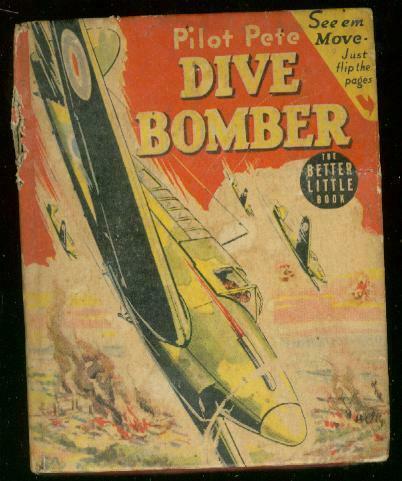 PILOT PETE DIVE BOMBER #1466-BLB-ROBERT JENNY-G DU BOIS VG-