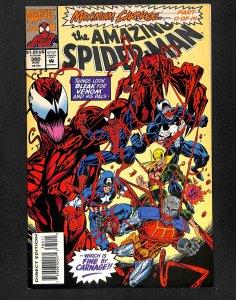 Amazing Spider-Man #380 FN 6.0 Venom!