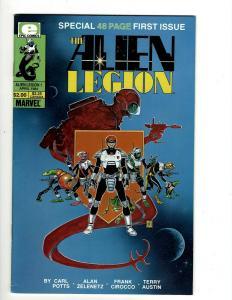 Lot of 12 Alien Legion Marvel Comic Books #1 2 3 4 5 6 7 8 9 10 11 12 JF4