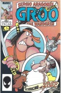 Groo the Wanderer #7 (Marvel Comics/Epic Comics, Sept 1985) - Sergio Aragone