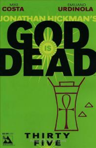 God Is Dead #35 VF/NM; Avatar   save on shipping - details inside