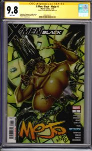 X-Men Black: Mojo #1! CGC Signature Series 9.8! Signed by Nick Bradshaw!