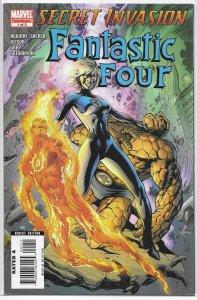 Secret Invasion: Fantastic Four #1 of 3 FN (2008) Aguirre-Sacasa/Kitson