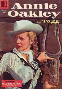 Annie Oakley and Tagg #5 (Oct-55) VF/NM High-Grade Annie Oakley, Tagg