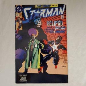Starman 42 Very Fine Cover by Mike Mignola