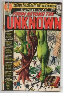 FROM BEYOND the UNKNOWN #7 VG+ Joe Kubert DoomsDay 1969 1970