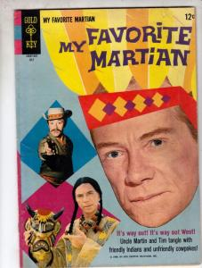 My Favorite Martian #8 (Jul-66) FN Mid-Grade Uncle Martin, Tim