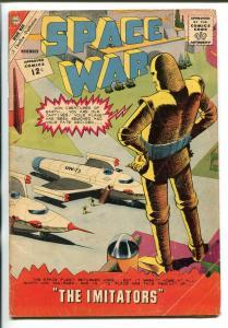 SPACE WAR #19 1962-CHARLTON-ROBOT COVER-vg