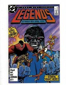 Legends Complete DC Comics LTD Series # 1 2 3 4 5 6 Suicide Squad Amanda Wal SB5