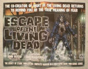 ESCAPE OF THE LIVING DEAD Promo Poster, Zombies, Unused, more in our store