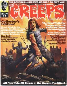THE CREEPS #1 - FIRST PRINTING - COMIC HORROR MAGAZINE