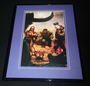 Marvel Zombies Hardcover Framed 11x14 Poster Display Hulk Iron Man Thor Ant Man
