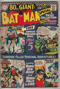 Batman #185 (Oct-66) FN- Mid-Grade Batman