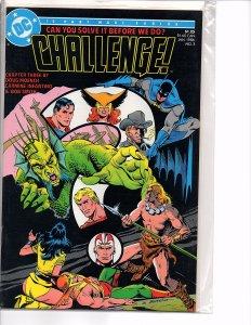 DC Comics DC Challenge! #3 Carmine Infantino Art