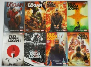 Wolverine: Old Man Logan TPB #0 + 1-10 VF/NM complete series - bendis lemire 50
