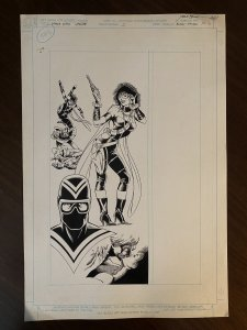 Who's Who Update '88 #1 Page 6 Original Art BLACK THORN