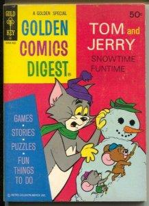 Golden Comics Digest #35 1974-Tom and Jerry-Barney Bear-FN