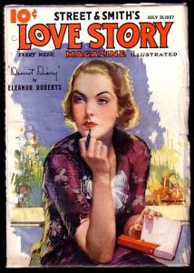 LOVE STORY-JULY 31 1937-DIARY COVER-L@@K FN/VF
