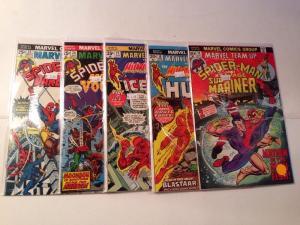 Marvel Team Up 14 18 23 24 25 5 Book FN/VF Lot Set Run