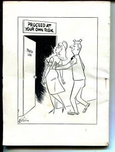 Army Laughs 10/1961-military cartoons, jokes, comic strips-Oriental cover-VG/FN