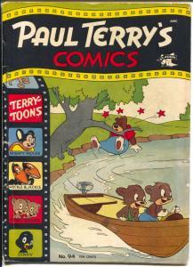 Paul Terry's Comics #94 1952-St John-Mighty Mouse-Dinkey-Little Foquefort-VG