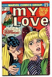 MY LOVE #35 1975- LOVE ROMANCE MARVEL-comic book