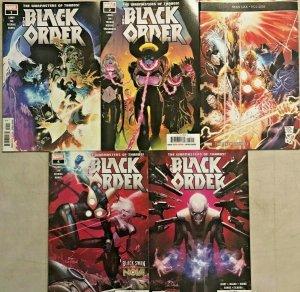 BLACK ORDER#1-5 VF/NM LOT 2018 MARVEL COMICS