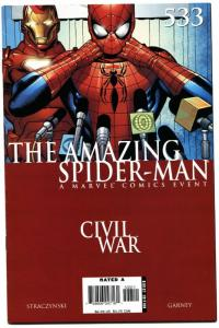 AMAZING SPIDER-MAN #533-Civil War avengers movie MCU
