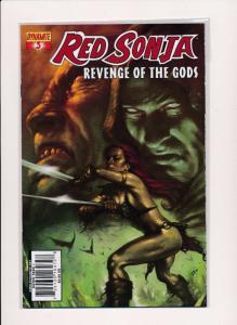 RED SONJA Revenge of the Gods #3 ~ Dynamite Comics ~ NM (HX392)