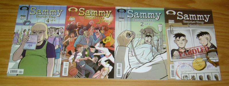 Sammy: Tourist Trap #1-4 VF/NM complete series - image comics - azad set lot 2 3