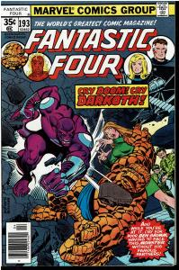 Fantastic Four #193, 8.0 or Better