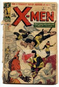 X-MEN #1 1963-MARVEL COMICS 1st appearance-Silver-Age Key Comic Book