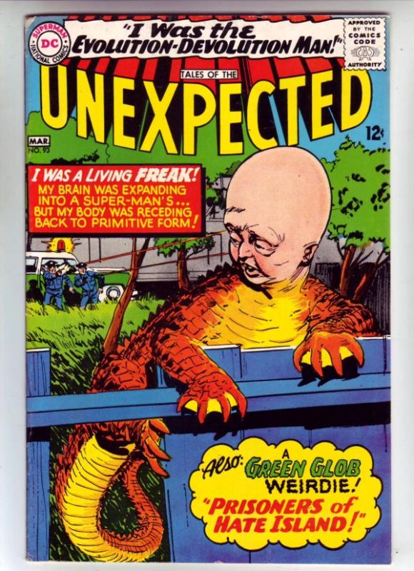 Tales of the Unexpected #93 (Mar-66) VF/NM High-Grade