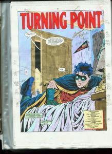 ROBIN #7-DC COLOR GUIDES PROD. ART-BATMAN