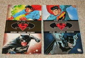 Lot of 2 Superman/Batman Torment/Vengeance HC Books NM DC Comic Book Heroes