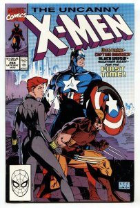 UNCANNY X-MEN #268 1990-Captain America-Black Widow NM-