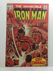 Iron Man 13 Vg+ Very Good+ 4.5 Marvel Comics