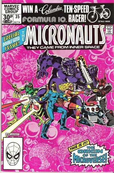 Micronauts (1979 series) #35, VF- (Stock photo)