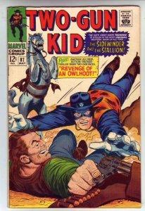 Two-Gun Kid # 87 Strict VF- High-Grade Artist Ogden Whitney, Reprints from 66